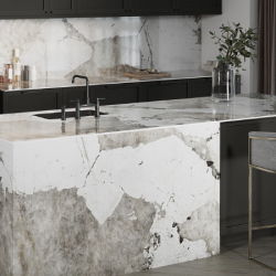 Porcelain worktops